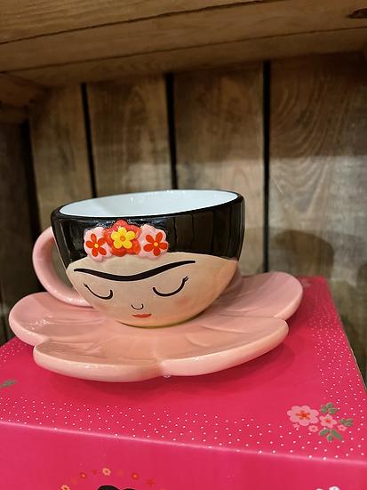 Viva la Frida teacup
