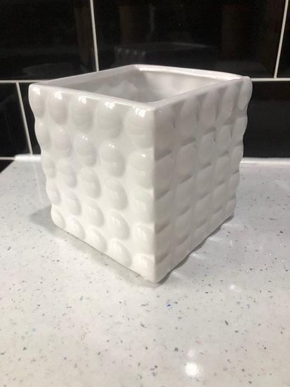 10cm white cube 2