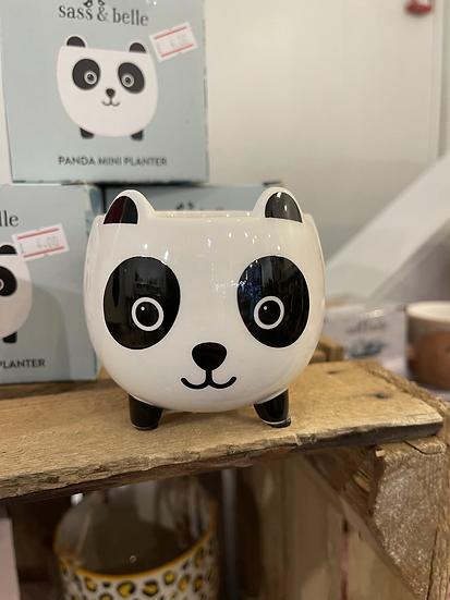 Panda mini planter