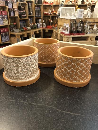 8cm terracotta mix