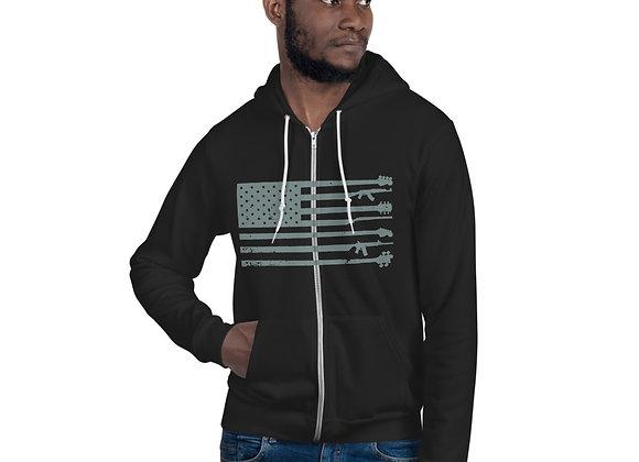 GnG Flag Hoodie (Grey)