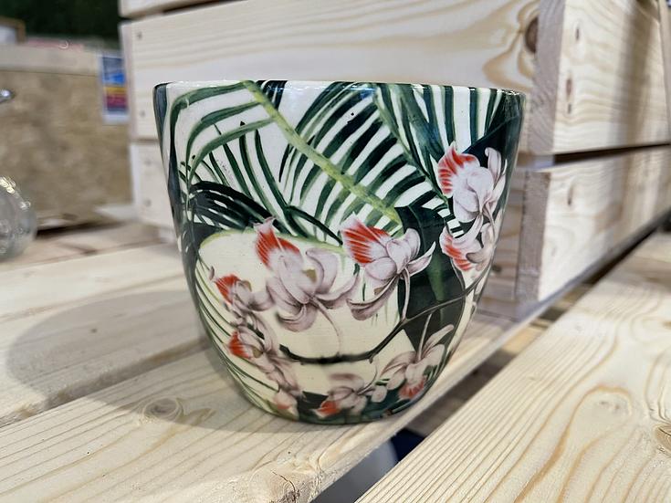 Monza tropical floral 13cm