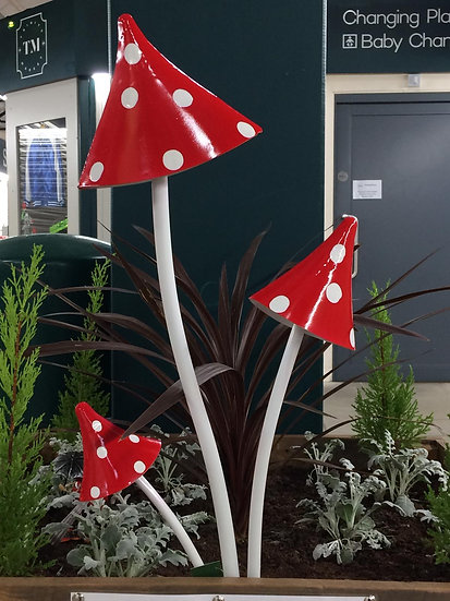 Triple Pointed Toadstool