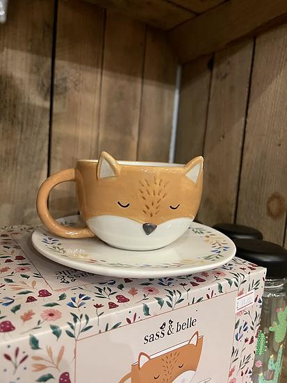 Finley fox teacup