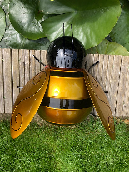 Giant wall art bee