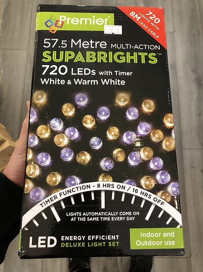 720 mixed white LED's