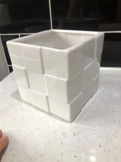10cm white cube 3