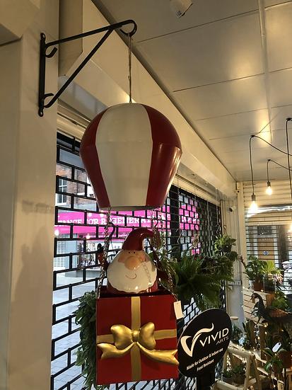 HUGE Santa hot air balloon