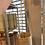 Thumbnail: Bamboo hanging planter grey 18cm