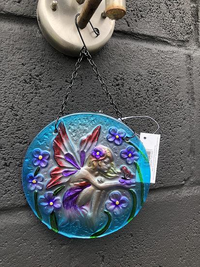 Fairy round sun catcher