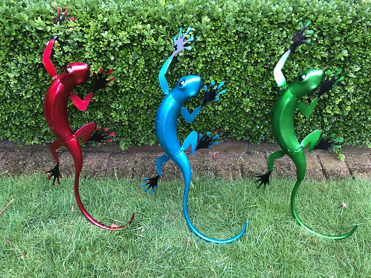 3D wall gecko large