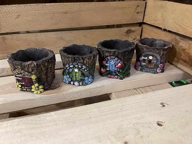 6cm pixie pots