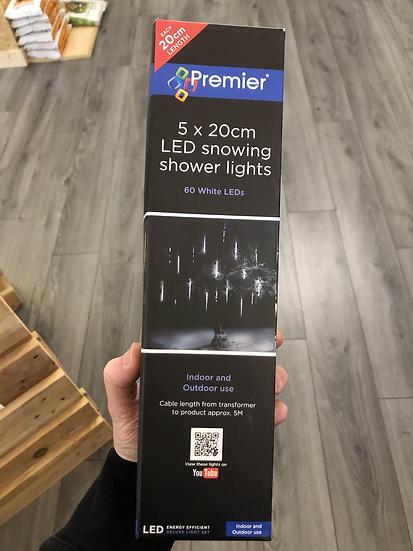 Snowing shower lights 20cm