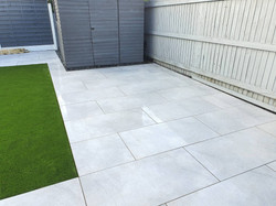 Artificial Grass and Patio