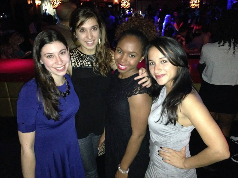 Hanging with my law school roommates during 1L.