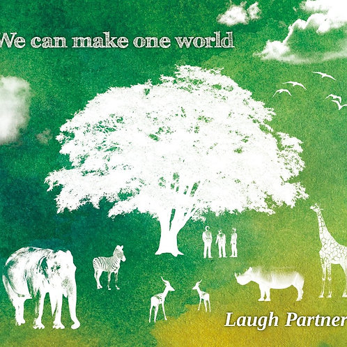 【CD】Laugh Partner /  「We can make one world」