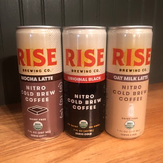 RISE Nitro-Infused Cold Brew Coffees
