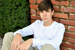 Boy Senior Portraits