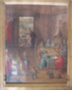 Restaurer tableau vaud suisse