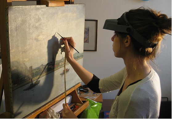 Charlotte Ricard - Restauration d'oeuvres d'art Lausanne