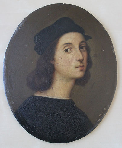Restauration - Portrait de Raphael
