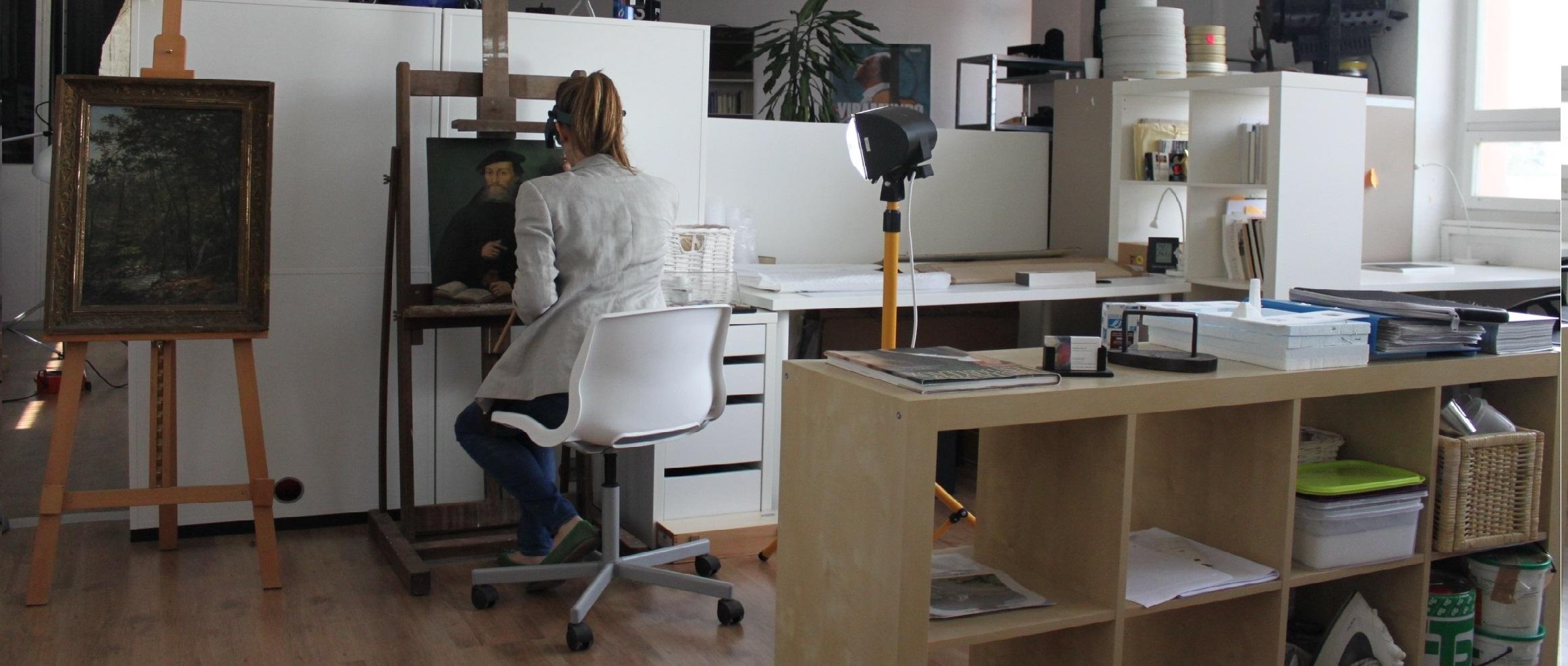 Atelier de restauration d'art