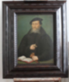 Après restauration - Peinture sur bois du 16ème siècle
