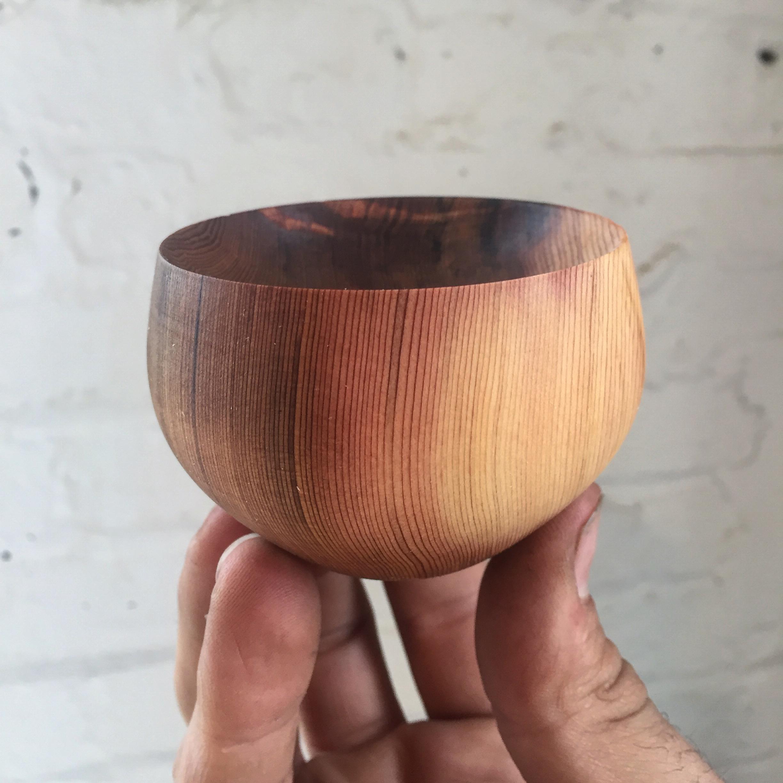 clear cedar dish