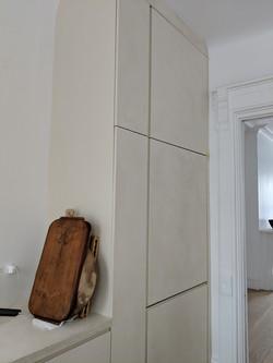 plaster kitchen