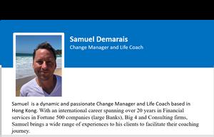 Samuel Demarais short bio