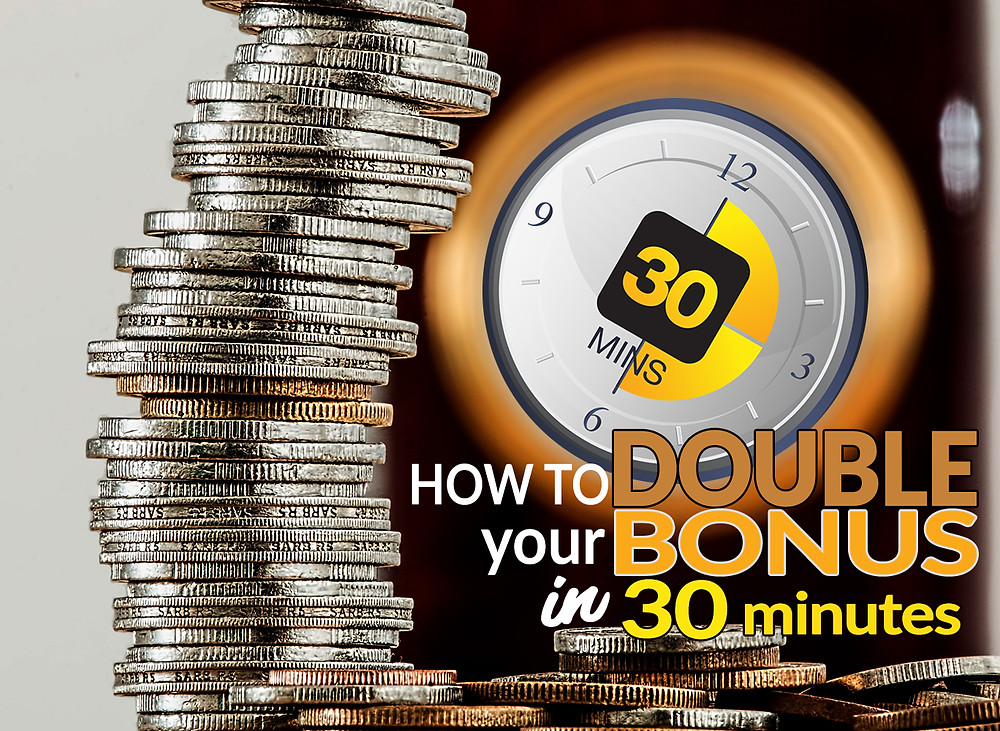 30 minutes clock and money