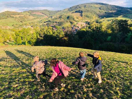 Un week end à la ferme avec les enfants