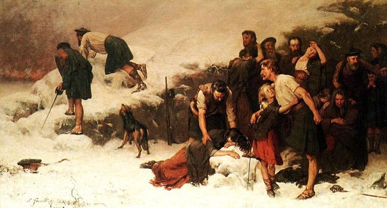 Massacre of Glencoe by James Hamilton.jp