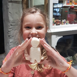 Soap Carving the Ballachulish Goddess