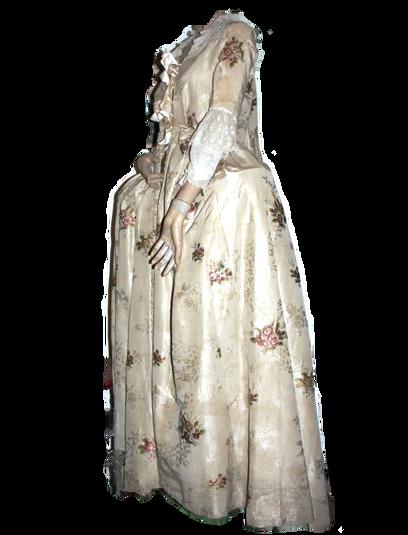 Spitalfields Silk Dress, c. 1740s
