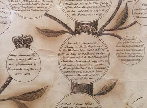Clan Donald Genealogical Chart