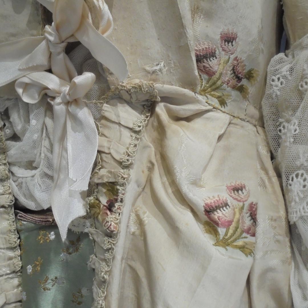 Spitalfields Silk Dress, c.1740s