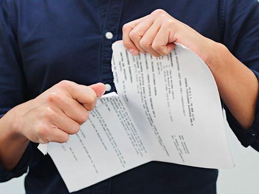 O que pode gerar a invalidade de um contrato?