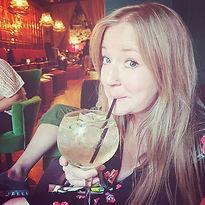 Cocktail as big as my head, damn you san