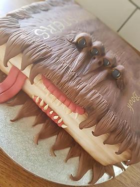 This cake's got bite!