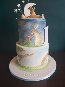 Guess how much I love..this cake