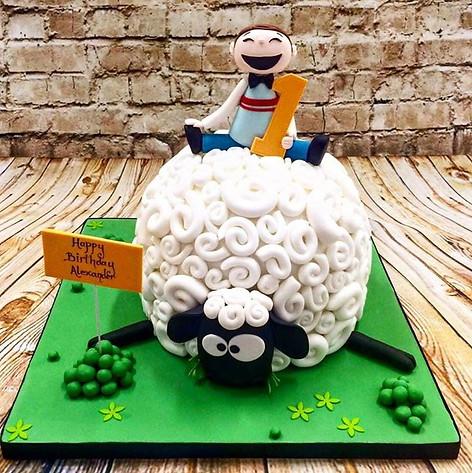 Ewe won't believe this is cake!