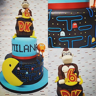 Pixels Cake!