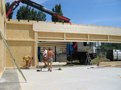2003.07 Bau WienerBerg Kyudojo, 072_2