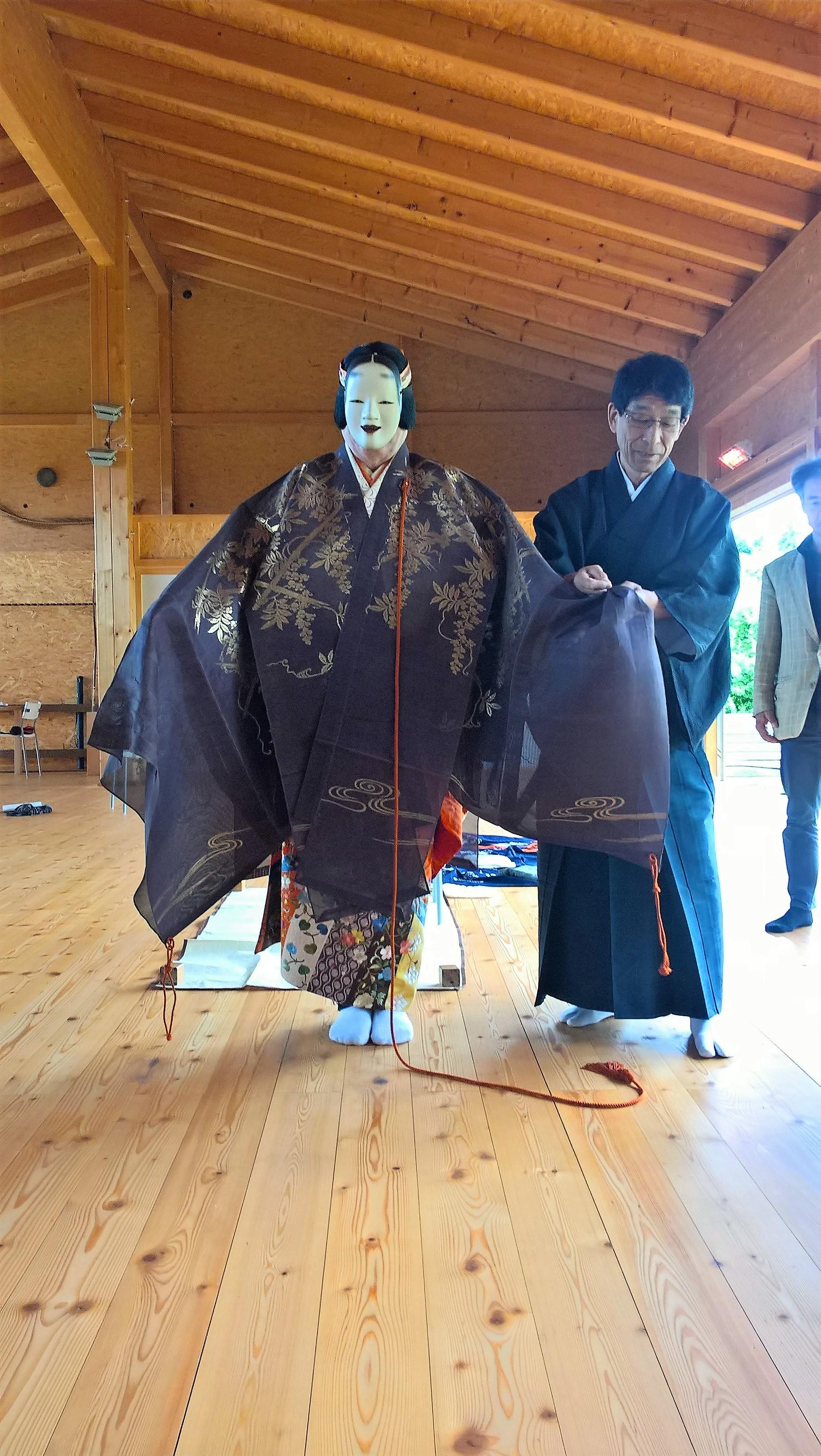 2017.06.17, WienerBerg Kyudojo, Noh Seminar 024