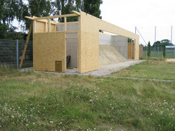 2003.07 Bau WienerBerg Kyudojo, 089