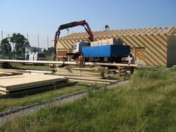2003.07 Bau WienerBerg Kyudojo, 075