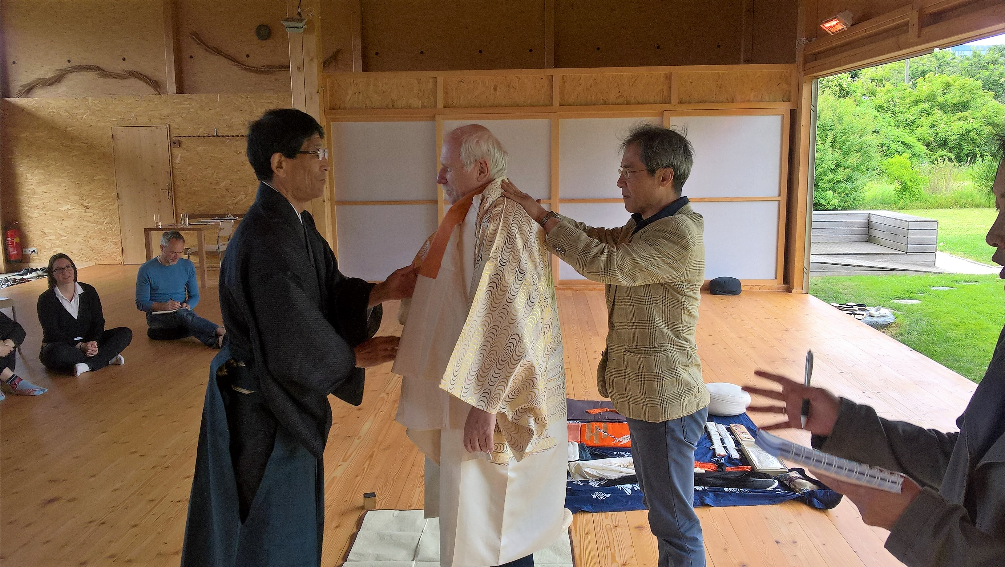 2017.06.17, WienerBerg Kyudojo, Noh Seminar 011