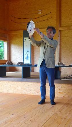 2017.06.17, WienerBerg Kyudojo, Noh Seminar 001