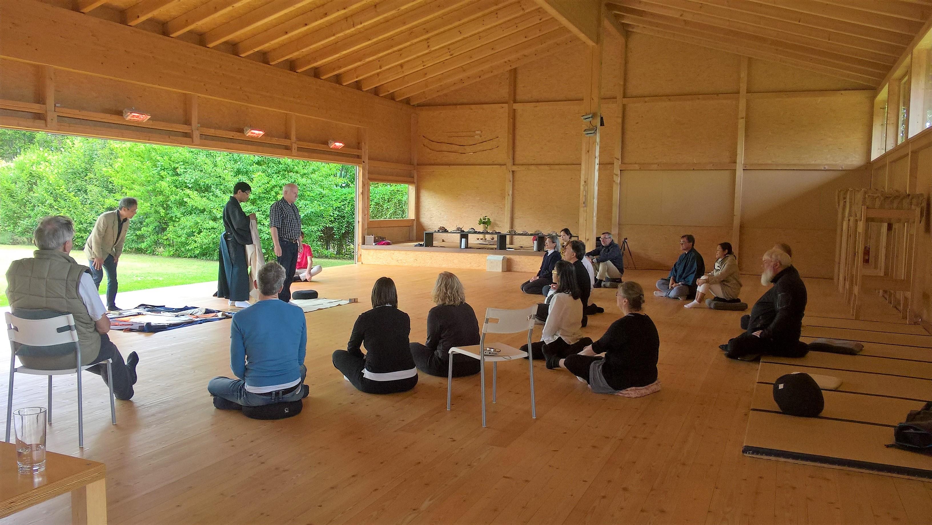 2017.06.17, WienerBerg Kyudojo, Noh Seminar 010